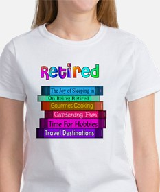 Retired BOOK STACK Tee