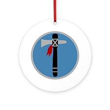 XIX Corps - 3 Round Ornament