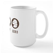 peacelovegorn3brown Mug