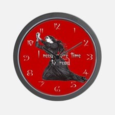 I need more time to read Wall Clock