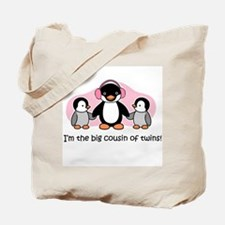Big Cousin of Twins (Penguin) Tote Bag