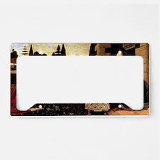 Leonardo Annunciation License Plate Holder