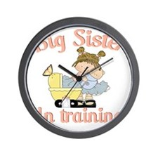 big sister training Wall Clock