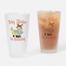 big sister training Drinking Glass