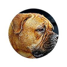 """Bullmastiff 3.5"""" Button"""