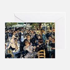 Renoir Le Moulin de la Galette Greeting Card