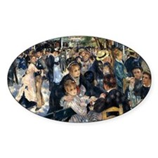 Renoir Le Moulin de la Galette Decal