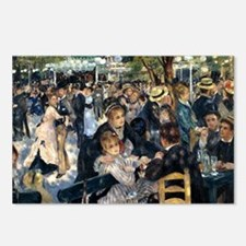 Renoir Le Moulin de la Ga Postcards (Package of 8)