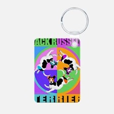 Jack Russell Terrier Graph Keychains