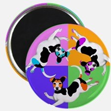 Jack Russell Terrier Graphic Magnet