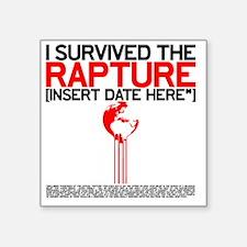 """RAPTUREX Square Sticker 3"""" x 3"""""""