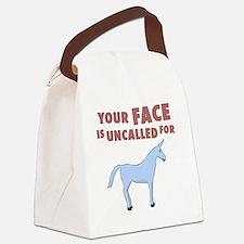 unicron-D3-BlackApparel Canvas Lunch Bag