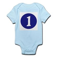 MONTH BY MONTH 1- Infant Bodysuit