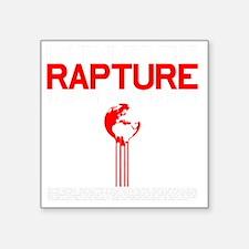"RAPTURE Square Sticker 3"" x 3"""