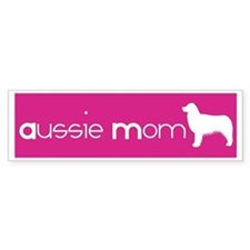Aussie Mom Bumper Bumper Sticker
