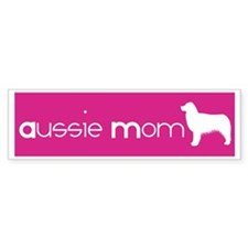 Aussie Mom Bumper Car Sticker