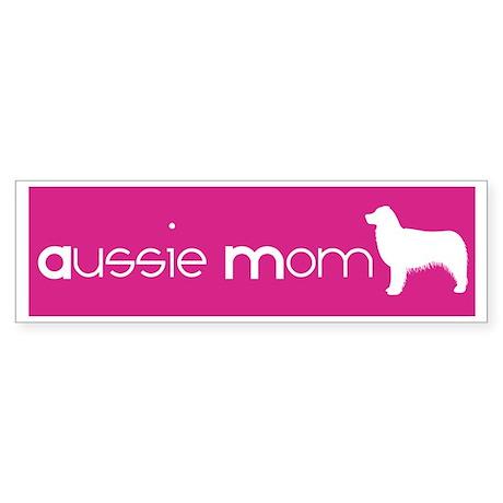 Aussie Mom Bumper Sticker