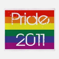 Pride-Birth-of-a-hero-2011 Throw Blanket