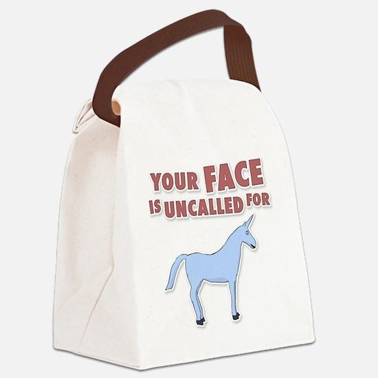unicron-D3-WhiteApparel Canvas Lunch Bag