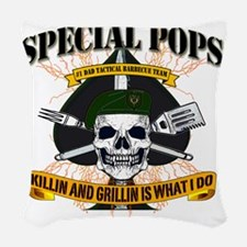 SPECIAL FORCES Woven Throw Pillow