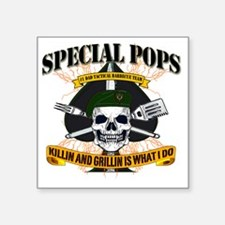 "SPECIAL FORCES Square Sticker 3"" x 3"""
