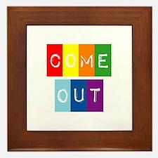 Dark-Dont-hide-come-out-2 Framed Tile