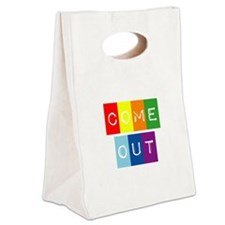 Dark-Dont-hide-come-out-2 Canvas Lunch Tote