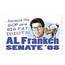 Al Franken Senate 2008 Postcards (Package of 8)
