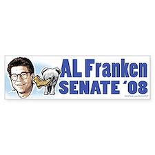 Al Franken Senate 2008 Bumper Bumper Sticker
