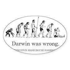 DarwinWasWrong-Bagley300 Decal