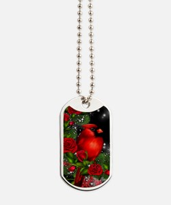 SPARKLING CARDINAL Dog Tags
