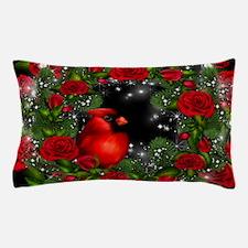 SPARKLING CARDINAL Pillow Case