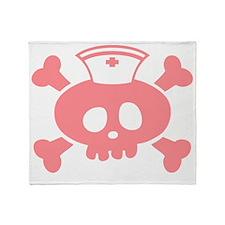 lolly-rn-pnk-T Throw Blanket