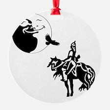 knights moon sq nb Ornament