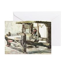 Van Gogh The Weaver Greeting Card