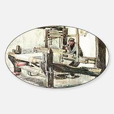 Van Gogh The Weaver Decal
