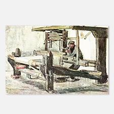 Van Gogh The Weaver Postcards (Package of 8)