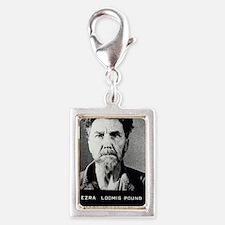ezra_pound_1945_may_26_mug_s Silver Portrait Charm