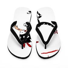 exhibited003_10x10_Dark Flip Flops