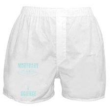 MortSciShirtDRK Boxer Shorts