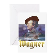 WAGNER DARK Greeting Card