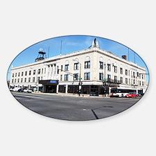 19Mar11_Ashburn Gresham_102-NOTECAR Sticker (Oval)