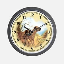 Border Terrier Clock Lge Wall Clock
