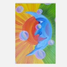 sun and bubbles Postcards (Package of 8)