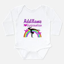 TALENTED GYMNAST Long Sleeve Infant Bodysuit