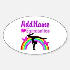 TALENTED GYMNAST Decal