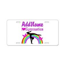 TALENTED GYMNAST Aluminum License Plate