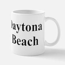 I Flip Flop Daytona Beach Bumper Sticke Mug