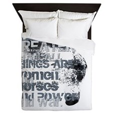 4thingsgreater2 Queen Duvet