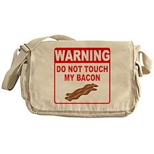 Bacon Warning Messenger Bag